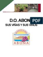 D.O. ABONA  sus Viñas y sus Vinos