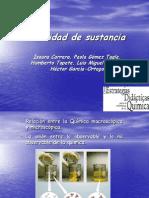 K.cantidad de Sustancia 2005