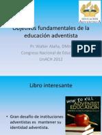 Objetivos fundamentales de la educación adventista