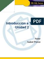 Introducci€¦ón a TSQL - Unidad 2