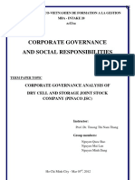 Corporate Governance & Social Responsibility  - An Overall Assessment of PINACO JSC.