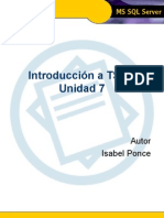 Introducci€¦ón a TSQL - Unidad 7