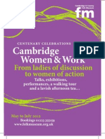 Cambridge Women & Work
