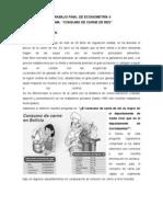 Informe de a Trabajo Final Consumo de Carne