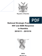 National Strategic Framework for HIV and AIDS Response in Namibia 2010/11 – 2015/16