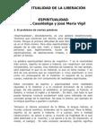 ESPIRITUALIDAD DE LA LIBERACIÓN. Casaldalida Vigil