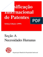 Classificação internacional de patentes - pdf