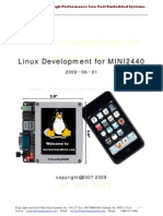 Mini2440 Linux Manual