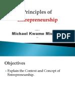 Gtuc_principles of Entreprenuership