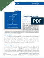 Calcium D Glucarate Thorne Study