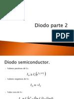 El Diodo Semiconductor Parte 2