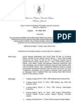 Peraturan Gubernur No 145 tahun 2006