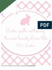 Easter Print Pink