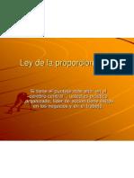 ley proporcionalidad