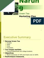 Green Tea Marketing Plan