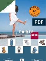 Tarif2010-TA-e