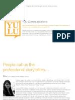 Yulu Communications PR Portfolio