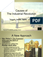 Causes of the Industrial Revolution APtest