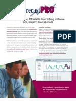 Forecast Pro Brochure (1)
