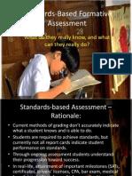 Standards-Based Grading Presentation