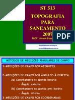 ROTEIRO DE CÁLCULO ANALÍTICO 12-09-2007