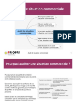 L'audit de situation commerciale