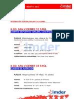 Programa General Verano 2012