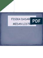 MEDAN LISTRIK