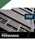 Catalogo Persianas en Alumino
