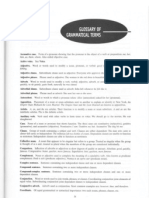 Grammatical Glossary