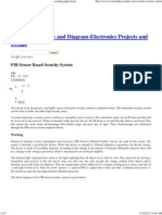 PIR Sensor Based Security System, Circuit Diagram,Working,Applications
