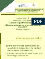 Curso Iap en Aps Encuentro Educacion