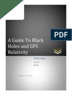 habib black holes gps relativity
