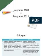 Comparacion de Planes y Programas