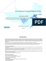 China Tap Water Production Supply Industry Profile Cic4610