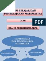 Teori Belajar Dan Pembelajaran Matematika Akhir