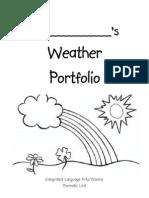Weather Portfolio Cover