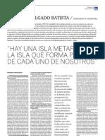 Entrevista a Yolanda Delgado Batista por Eduardo García Rojas en  EL PERSEGUIDOR