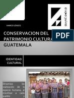 Ejemplo Marco Lógico Conservacion Del Patrimonio Cultural en Guatemala