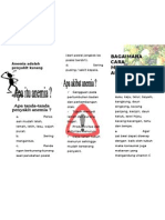 Contoh Leaflet Anemia