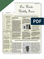 Newsletter Volume 4 Issue 12