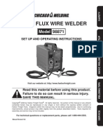 Flux Wire Welder