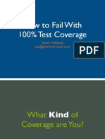 How to Fail With 100 Percent Test Coverage 1up