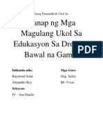 baby thesis in filipino tungkol sa droga