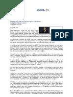 Discurso Bush en West Point 1-6-2002