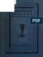 Hand Sewing Lessons - A Graded Course
