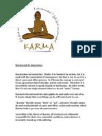 Karma and Its Importance