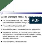 John Mullins 7 Domain Model