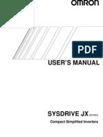 3g3JX inverter