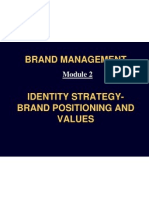 Brand Management Module 2 to 4